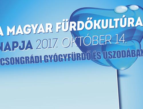 Magyar Fürdőkultúra Napja – 2017. október 14.