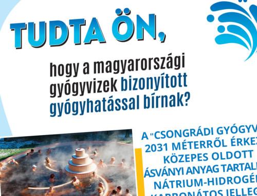 """Tavaszi """"Magyarország gyógyvizei"""" kampány"""